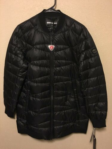 dames Bernardo short zwart groot jas nieuw packable 0avwqda