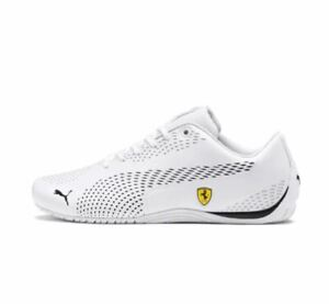 NEW-NIB-Men-039-s-Puma-SF-Ferrari-Drift-Cat-5-Ultra-II-Sneakers-Shoes-306422-04-Wh