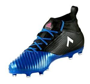 f37d41dc1a2e Adidas Ace 17.2 Primemesh FG Men s Football Cleats Blue Black BB4325 ...