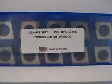 Iscar  10 Pieces IWSN-322 Shim Seat