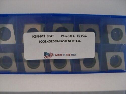10 Pieces ICSN-643 Shim Seat