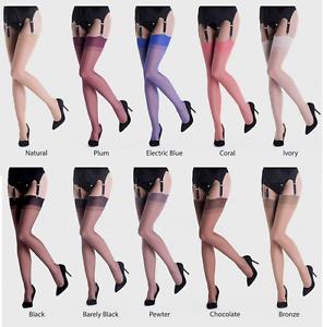 717f232cb GIO Vintage Style RHT Stockings Nylons Hosiery 15 Denier 100% Nylon ...