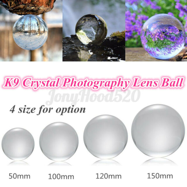 1PC Glass ball Photography Lens Ball Photo Prop Background ball Home Lens L3M4