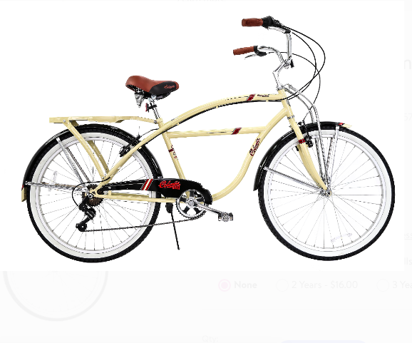 Men/'s Bike Cycling Road Cruiser Bicycle Shimano Steel Frame 26-Inch 7-Speed NEW