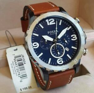 Fossil Nate Chronograph Watch JR1504