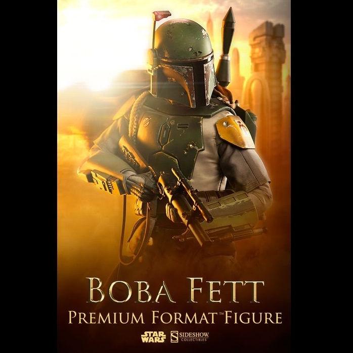 Star Wars: Episode V Sideshow Boba Fett Premium Figure Limited Edition