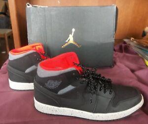 newest 00089 cbaf2 Image is loading Nike-AIR-JORDAN-1-Mid-Size-10-Men-