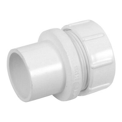 NEW Solvent Weld Straight Coupling 40mm White plumbing Waste pipe  Each