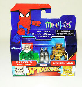 Marvel Minimates Series 77 Vulture /& Molten Man