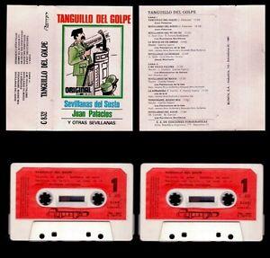 TANGUILLO-DEL-GOLPE-JUAN-PALACIOS-SPAIN-CASSETTE-OLYMPO-1981-SEVILLANAS