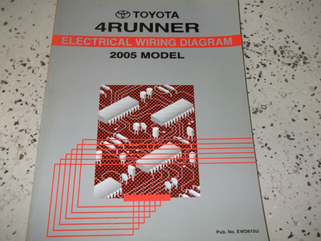 1996 Toyota 4runner Wiring Diagrams Electrical Service Manual