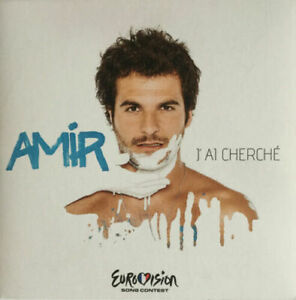 2021 Eurovision - France 2016. J'ai cherché - Amir ( Promo CD Single.)