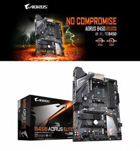 Gigabyte B450 Aorus Elite Atx Gaming Motherboard Amd B450 Chipset Japan Tracking 889523014653 Ebay