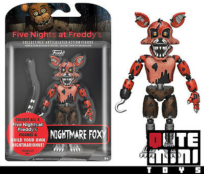 """IN STOCK FUNKO FIVE NIGHTS AT FREDDY/'S NIGHTMARE FOXY 5/"""" ACTION FIGURE 11846"""