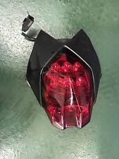 TRIUMPH 675 R STREET TRIPLE REAR LIGHT AND TRIM 2014 BIKE BREAKING CLUSTER