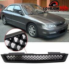 For 1994-1997 Honda Accord 2Dr 4Dr T-R Style Black Hood Grille
