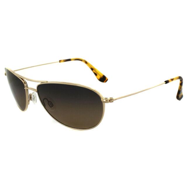 Maui Jim Sunglasses Baby Beach HS245-16 Gold Bronze Polarized