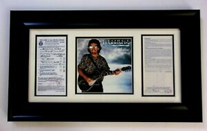 George Harrison The Beatles Signed US Custom Document Autographed Authenticated