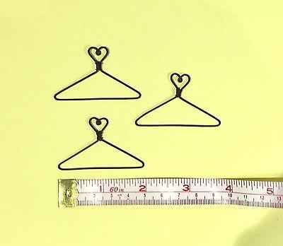 """Star in Centre 12X  Mini Wire Coat Hangers  1-1//4/"""""""