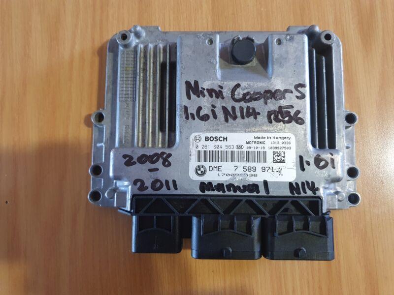 Mini Cooper 1.6i R56 N14 2008-2011 Bosch ECU part# DME 7 589 971