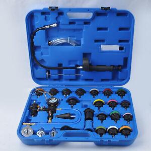 NEW-Radiator-Pressure-Tester-Universal-Cooling-System-Head-Gasket-Leak-Kit