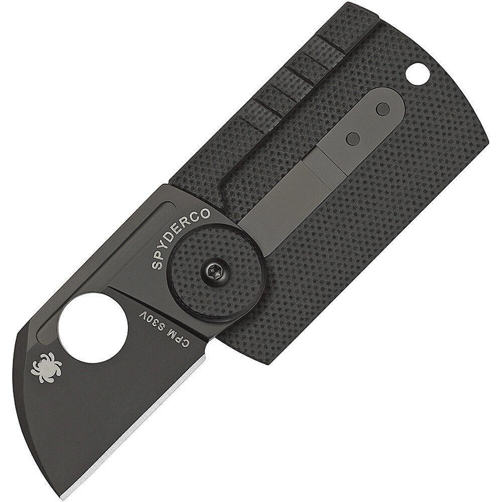Spyderco Dog Tag Tag Tag Plain Edge Folder with 1.23in Blade  | Vogue  b534e7