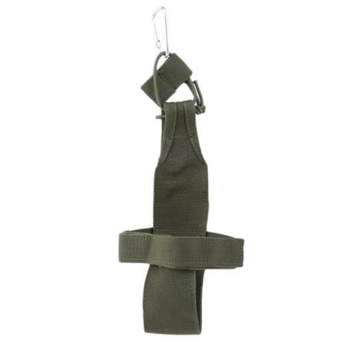 Water Bottle Pouch Bag Tactical Kettle Waist Bag Hiking Holster Carrier Molle FW