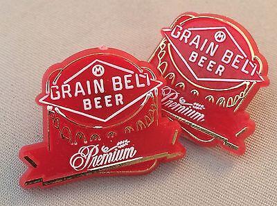 AUGUST SCHELL premium grain belt minnesota PATCH iron on craft beer brewing