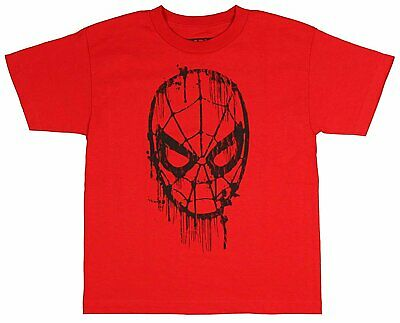 759dbdca88d Marvel The Amazing Spider-Man Web Head Drips Youth Boys Graphic T-Shirt