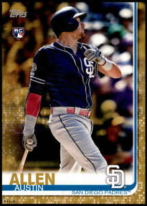 Austin Allen 2019 Topps Update 5x7 Gold #US103 RC /10 Padres