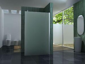Duschwand-FREE-F-10mm-Milch-Glas-Duschtrennwand-Duschabtrennung-Dusche