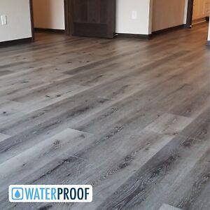 sample luxury grey waterproof plank improved laminate. Black Bedroom Furniture Sets. Home Design Ideas