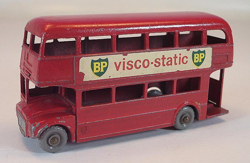 MATCHBOX REGULAR REGULAR REGULAR WHEELS Nº 5 C LONDON BUS BP VISCO-STATIC BP GPW LESNEY 1  381 7f957c