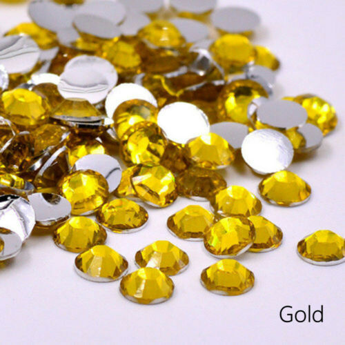 SS20 5mm Flatback Bling Crystal Rhinestone Non Hot Fix Glue on Free a wax Pencil