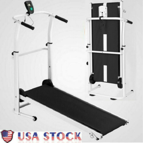 Folding Exercise Treadmill Motorized Running Home /& Gym Fitness Cardio Machine