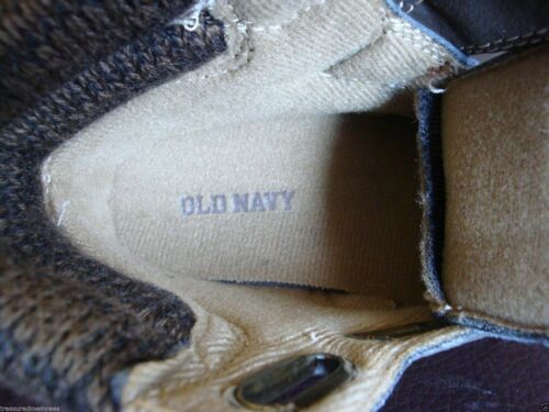 Old Navy Hiking Boots ~ Size 5 ages 6-12 months ~ Pick Your Color ~ NWT