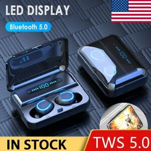 TWS-Bluetooth5-0-Earbuds-Wireless-Headphones-Earphones-For-iphone-Android-USA