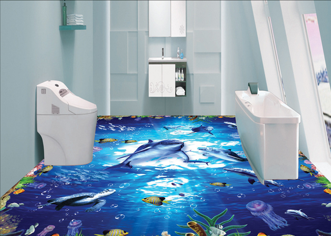 3D Beautiful Sea World 7462 Floor WallPaper Murals Wall Print Decal 5D AU Lemon