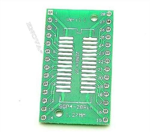 1,27MM TSSOP28 // SSOP28 Auf DIP28 Pinboard Smd bc 50 Stücke Adapter 0,65