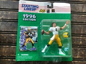 Vintage Brett Favre Green Bay Packers Starting Lineup 1996 NIB