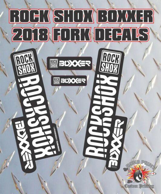 2020 Fox Racing Shox Heritage Decal Kit // 32 Shock 36 40 // Fork 34