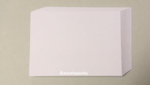 """blank uncoated 2/"""" x 2/"""" 5cm x 5cm White 300 gsm Twinche card, twinchies"""