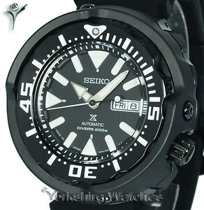 New-SEIKO-PROSPEX-BLACK-TUNA-MONSTER-DIVER-WITH-SILICONE-BUCKLE-STRAP-SRPA81J1