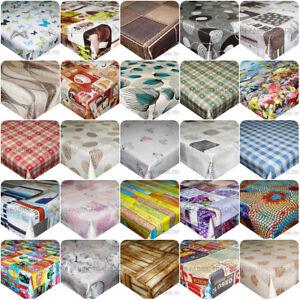 Wipe-Clean-PVC-Tablecloth-Rectangular-Kitchen-Dining-Oilcloth-Vinyl-200-x-140cm