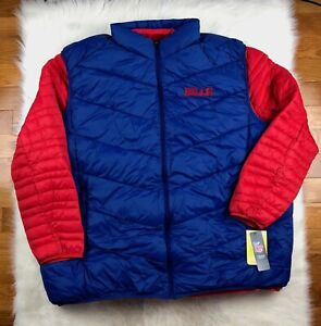 532fa16a Details about Buffalo Bills 3 in 1 Systems Jacket + Vest Big & Tall Size  5XL Blue/Red NFL
