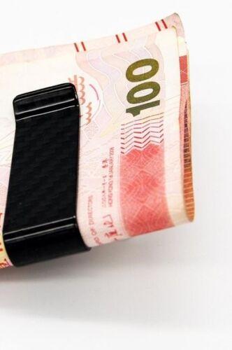 schöne Geldklammer Carbon 100/% Kohlefaser Money Dollarclip Geldclip Geldspange