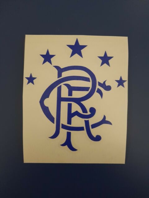 Glasgow rangers f c car window or wall art vinyl sticker