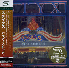 STYX Paradise Theatre (1981) Japan Mini LP SHM-CD UICY-93924 new !!!