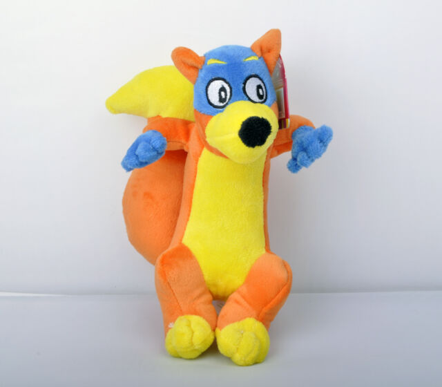 "New Dora the Explorer 8"" Swiper Stuffed Plush Soft Dolls Toy #LC"
