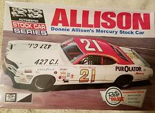 Donnie ALLISON'S Mercury Stock Car Plastic Model Kit MPC